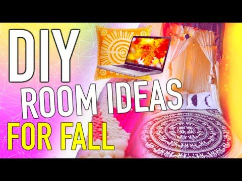 DIY room decorations for fall! How to make your room cozy for fall! DIY room decor inspired by tumblr photos :) Here are some cheap room decoration ideas tha...