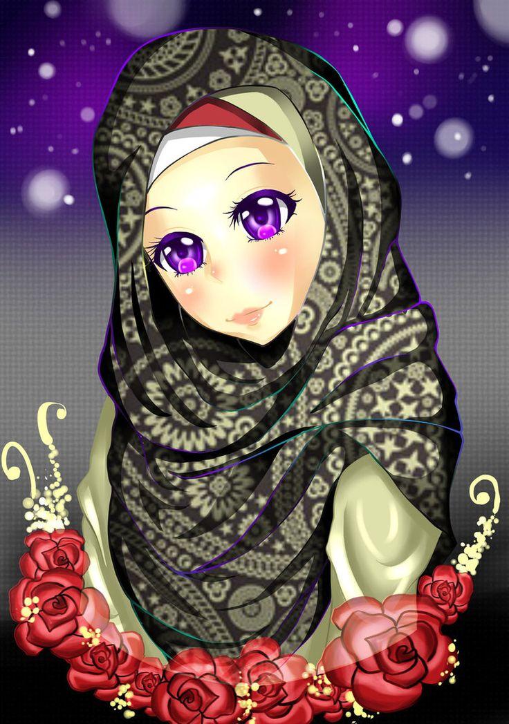 Pin by Ginny Elgendy on Hijab Anime Pinterest
