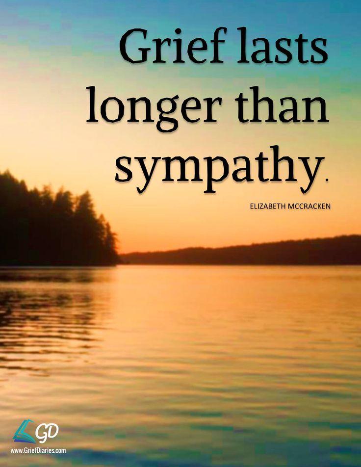 Grief lasts longer                                                       …