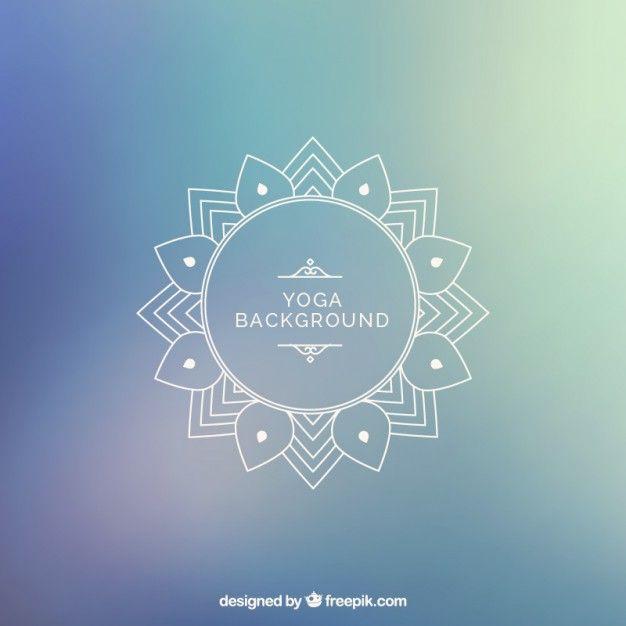 Yoga background Free Vector