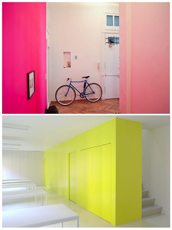 Going Neon Wallpaper And Paints
