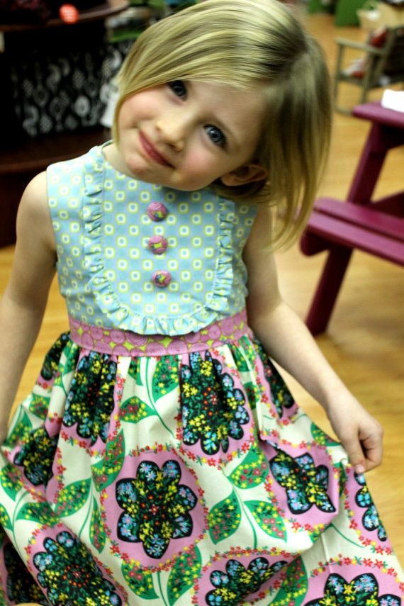 Spring Playful Picnic dress by LottieDaBaby on Etsy