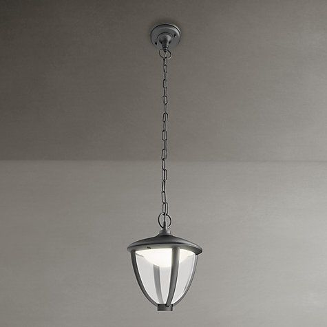 Buy Philips Robin Outdoor Lantern Ceiling Light, Black Online at johnlewis.com