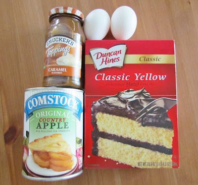 The Country Cook: Caramel Apple Cake