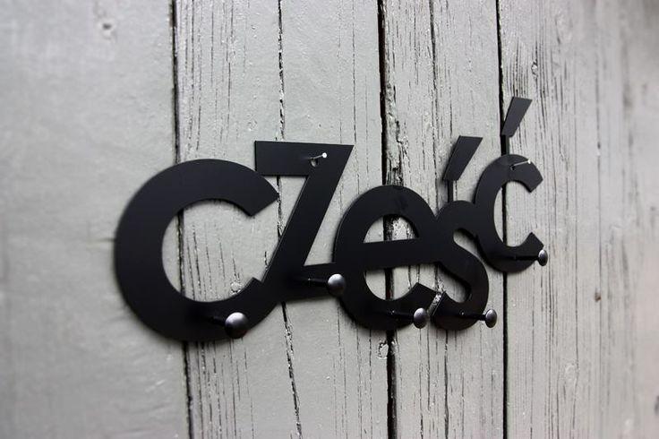 CZEŚĆ Rack Wall / Hanger / Find us on https://www.facebook.com/Lumikki.design