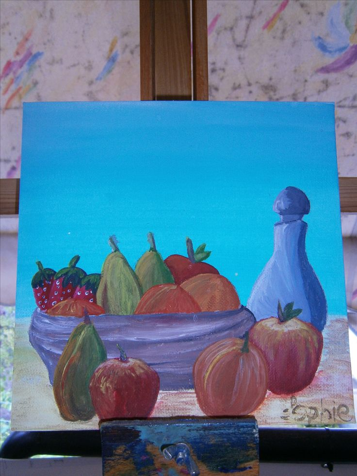 ''Fruits in a bowl'' Sophiecadesigns