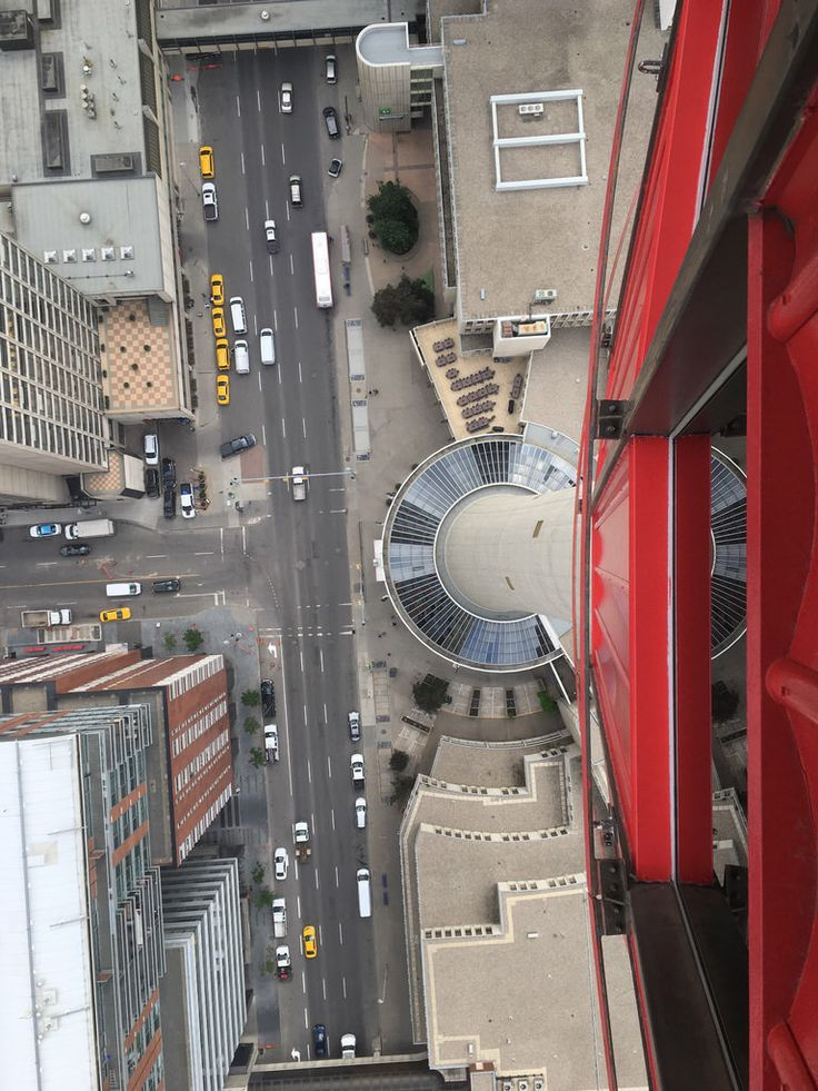 Don't look down . Calgary Tower, Calgary, Canada.