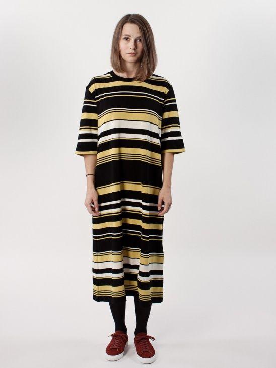 WeSC AW16 Juli Striped H Jersey Dress
