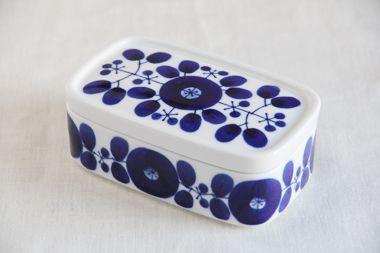 ブルーム バターケース (白山陶器)