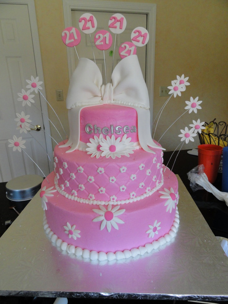 16 Best 21st Birthday Cake Inspiration Images On Pinterest