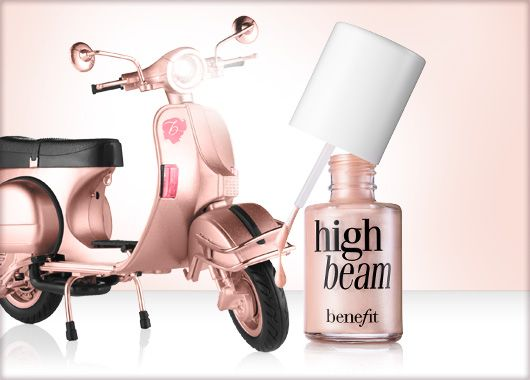 Benefit Cosmetics - high beam, luminescent complexion enhancer  #benefitbeauty