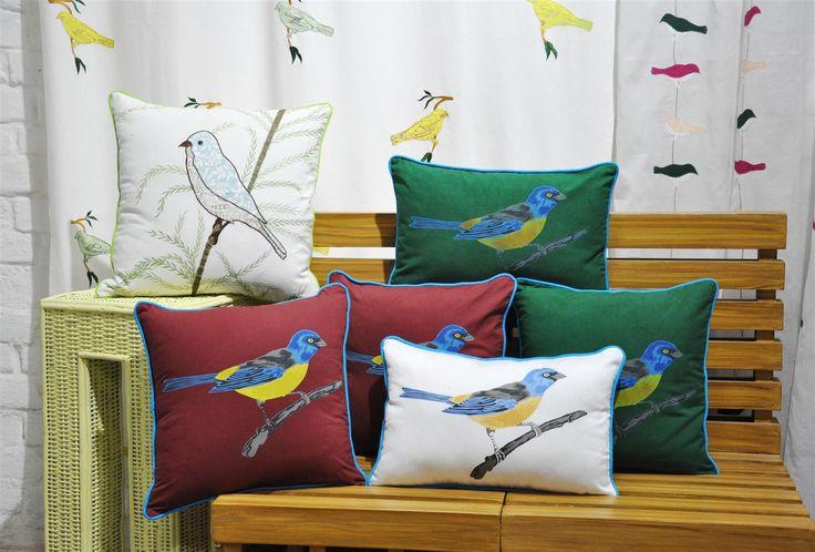 Birds cushion Collection