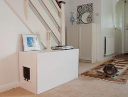 4 Opciones para tener areneros ocultos para gatos