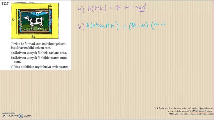 Matematik 5000 Ma 2a   Kapitel 3   Geometri   Geometri och bevis   3117