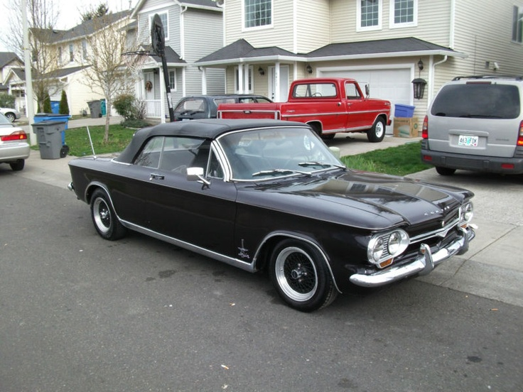 On-Stage Classic: 1964 Chevrolet Corvair Monza Spyder Club Coupe ...