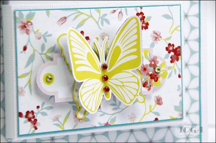 Collection scrapbooking Jardin Secret par Toga
