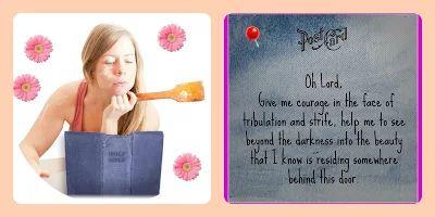 Prayer 5 - Sometimes we need courage....