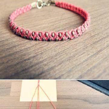 Bracelet DIY - Marie Claire Idées