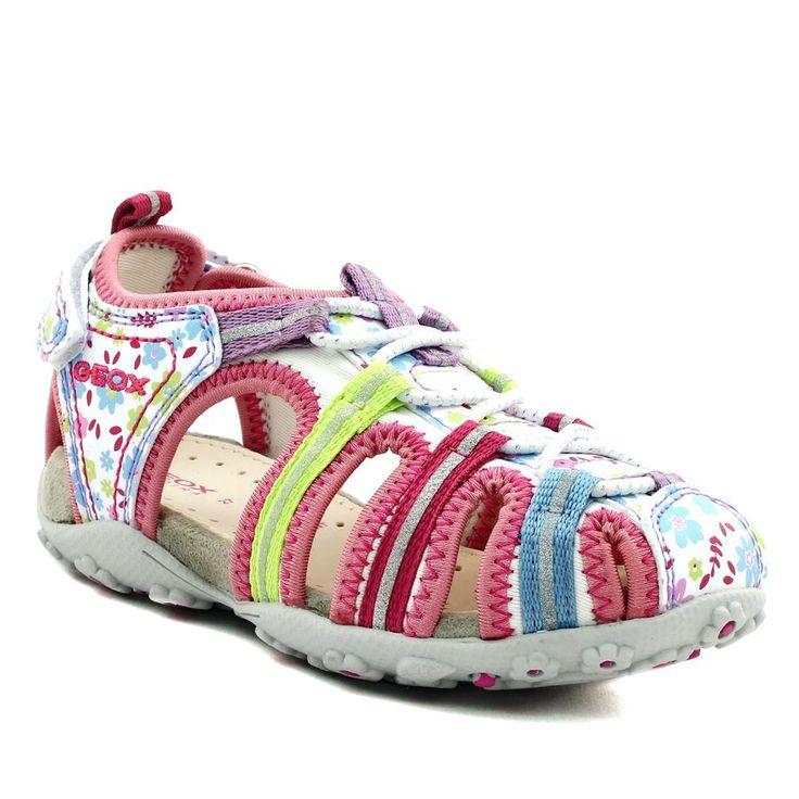 501A GEOX ROXANNE J52D9C BLANC www.ouistiti.shoes le spécialiste internet #chaussures #bébé, #enfant, #fille, #garcon, #junior et #femme collection printemps été 2017
