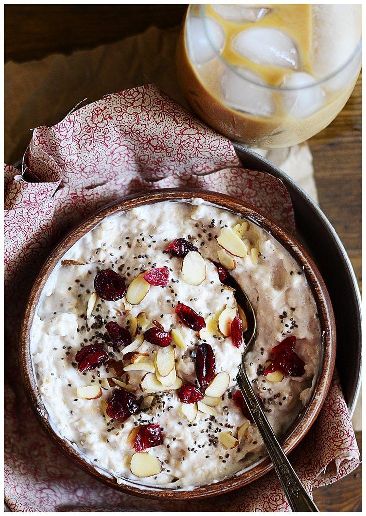 Oats and Greek Yogurt
