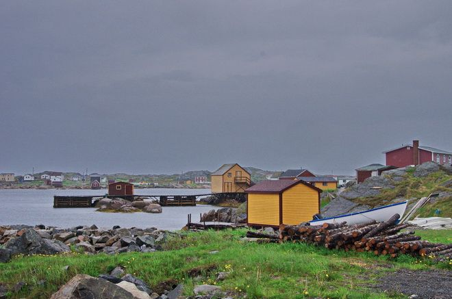 """What to Do on a Trip to Fogo Island, Newfoundland """"Quaint & colourful fisherman's villages"""" hikebiketravel.com"""