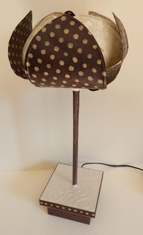 les 38 meilleures images propos de abat jour et pied de lampe sur pinterest rev tement en. Black Bedroom Furniture Sets. Home Design Ideas