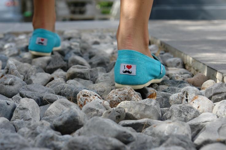 Walking on Keep Fred #Canvas! www.keepfred.gr