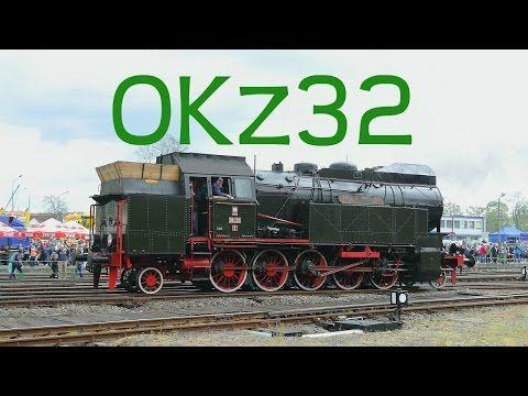 Polish steam locomotive OKz32 with retro wagons. Parade of steam locomotives in Wolsztyn. - YouTube