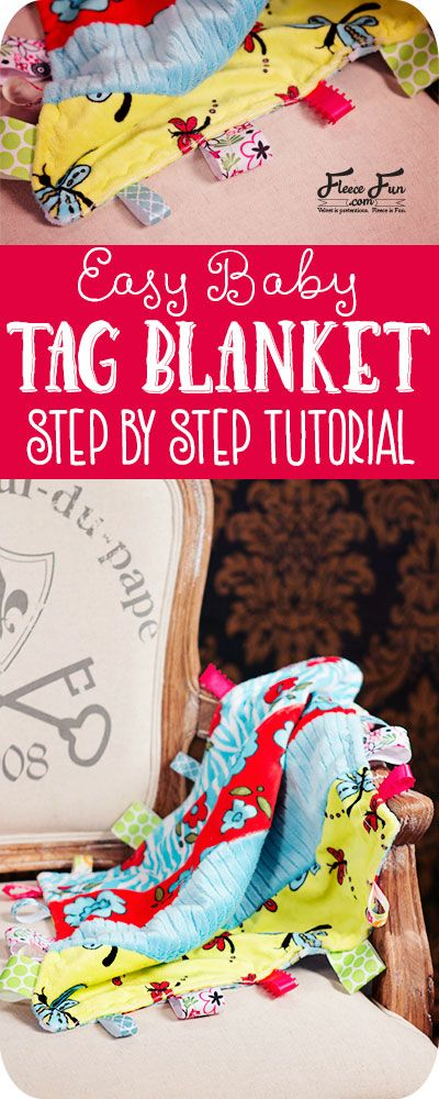 This Baby Tag Blanket Tutorial is easy and had step by step instructions to walk you through it. Also there is a video tutorial to help you visualize it. Love this baby sewing project.