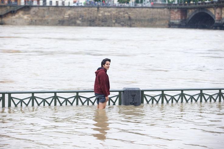 Flood in Prague 2013, Vltava river