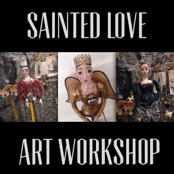 "A Day In The Life Of A Jewelry Muse — Registration for the next ""Sainted Love"" Art..."
