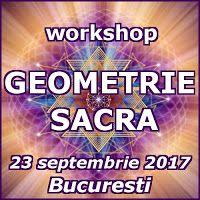 hunalove.blog: Workshop Geometrie Sacra, Bucuresti - 23 septembrie