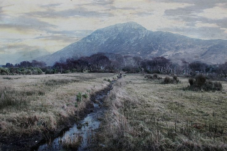 To The Mountain by Dominic Moriarty on ArtClick.ie Ireland Landscape Art