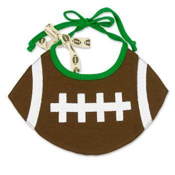 Football Baby Bib #baby #football #bib