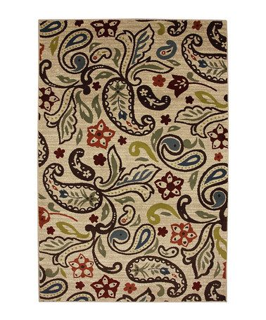 Take a look at this Retro Paisley Rug by Mohawk Home on #zulily today!