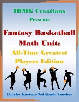 This resource is a SLAM DUNK!!!!In this product, students work alone or in teams to create a fantasy basketball team based on the all-time greatest players at their respective positions.  Players are ranked and valued based on career statistics and rosters are built using a $175 budget.
