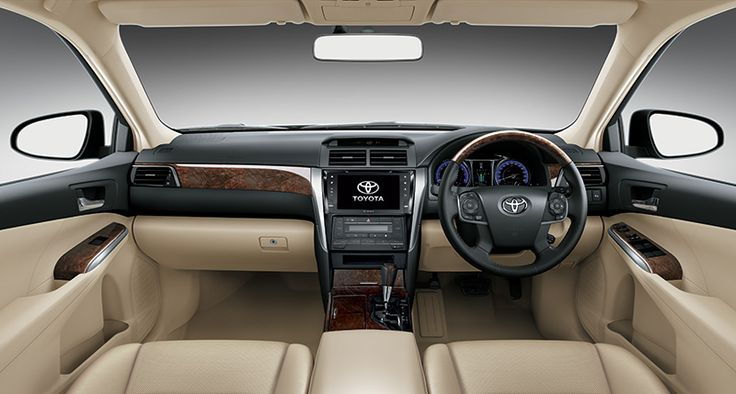 Toyota All New Camry type V - interior front part view - The Future Sedan - Auto2000
