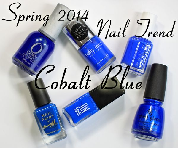 Cobalt Blue - #Spring2014 Nail #Trend #nails via @All Lacquered Up