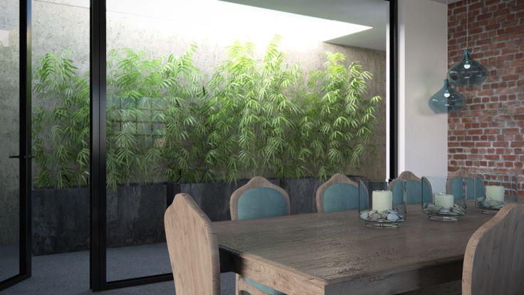 apartment renovation - 3d rendering