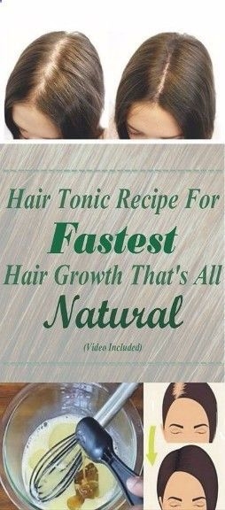 [VIDEO] Natural Hair Tonic Recipe For Fastest Hair Growth That's All-Natural!