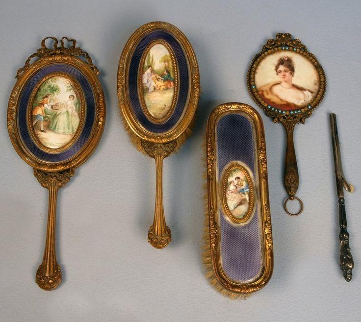 678 Best Antique Amp Vintage Hand Mirror Amp Vanity Set Images