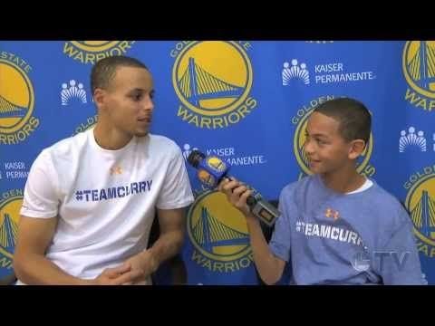 Kid Warrior Stephen Curry Interview - YouTube