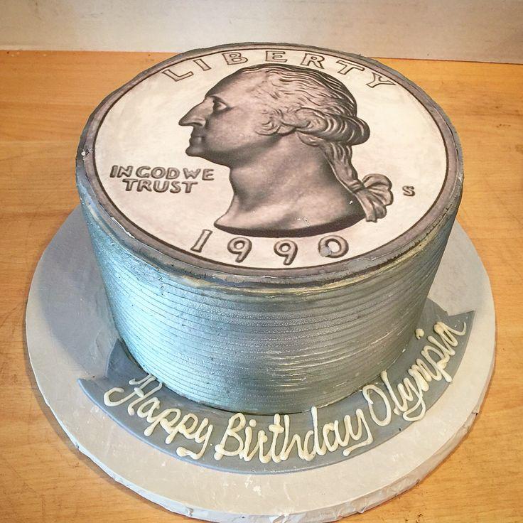 Quarter Century Cake !! Visit Rustikacafe.com And Rustika