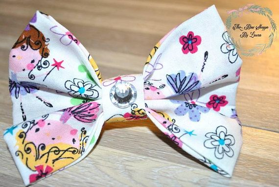 Hey, I found this really awesome Etsy listing at https://www.etsy.com/listing/581202475/ballet-princess-hair-bow-ballet-fabric