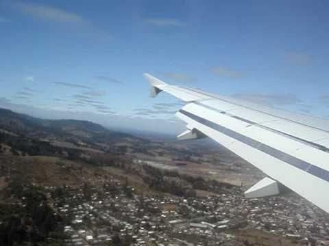 Lan Airlines Landing in Temuco | http://pintubest.com