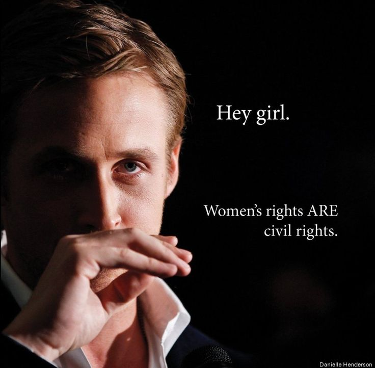 Hey Girl, Feminist Ryan Gosling