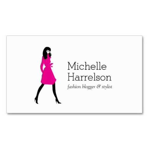 54 best images about Business Cards for Bloggers & Fashion ...