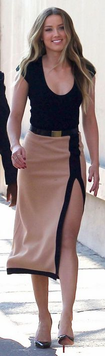 Dress – Michael Kors  Shoes – Christian Louboutin
