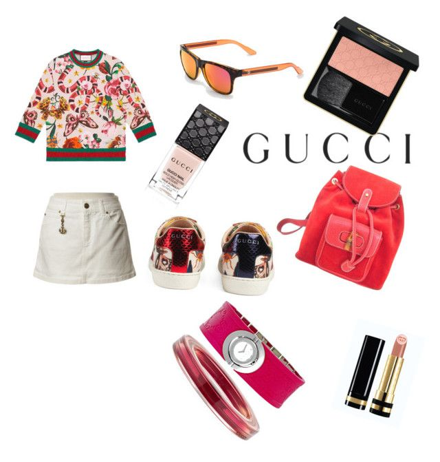 """Presenting the Gucci Garden Exclusive Collection: Contest Entry"" by mariuccia1 on Polyvore featuring Gucci and gucci"