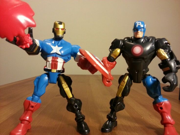 #Marvel #SuperHero Mashers! Mix up #IronMan and #CaptainAmerica . If you love the #Avengers, you'll love these fun #Action Figures ! See it at and more #toys at https://youtu.be/TwPVBlrReBM